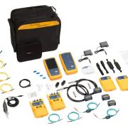 FLUKE NETWORKS DSX2-8000QI INT - 2 GHz DSX2-8000 Cable Analyzer with Quad OLTS, Fiber Inspection and Wi-Fi