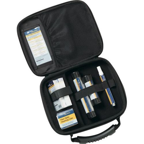 - Enhanced Fiber Optic Cleaning Kit