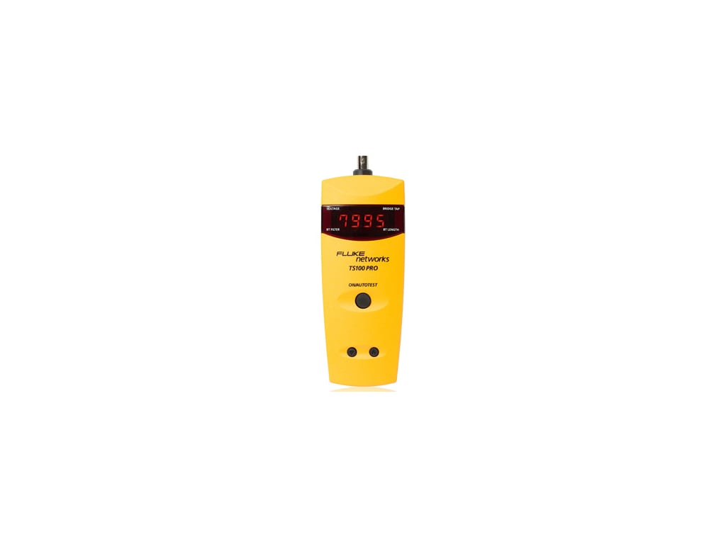 Fluke Network_TS100-PRO-BT-TDR_Cable - Cable Fault Finder with PowerBT™ Bridge Tap
