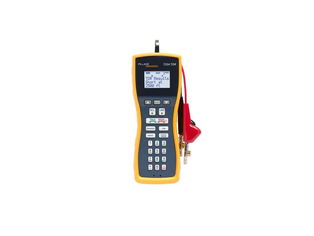 Fluke Network_TS54-A-09-TDR_LCD Telephone Test Set 1 - LCD Telephone Test Set, TDR, ABN with Piercing Pin