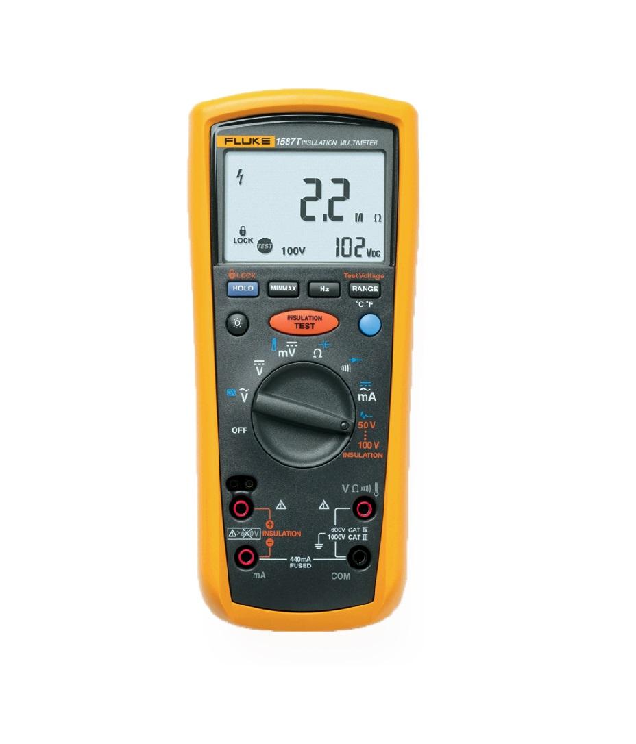 FLUKE 1587T - Insulation Multimeter (Telecom)
