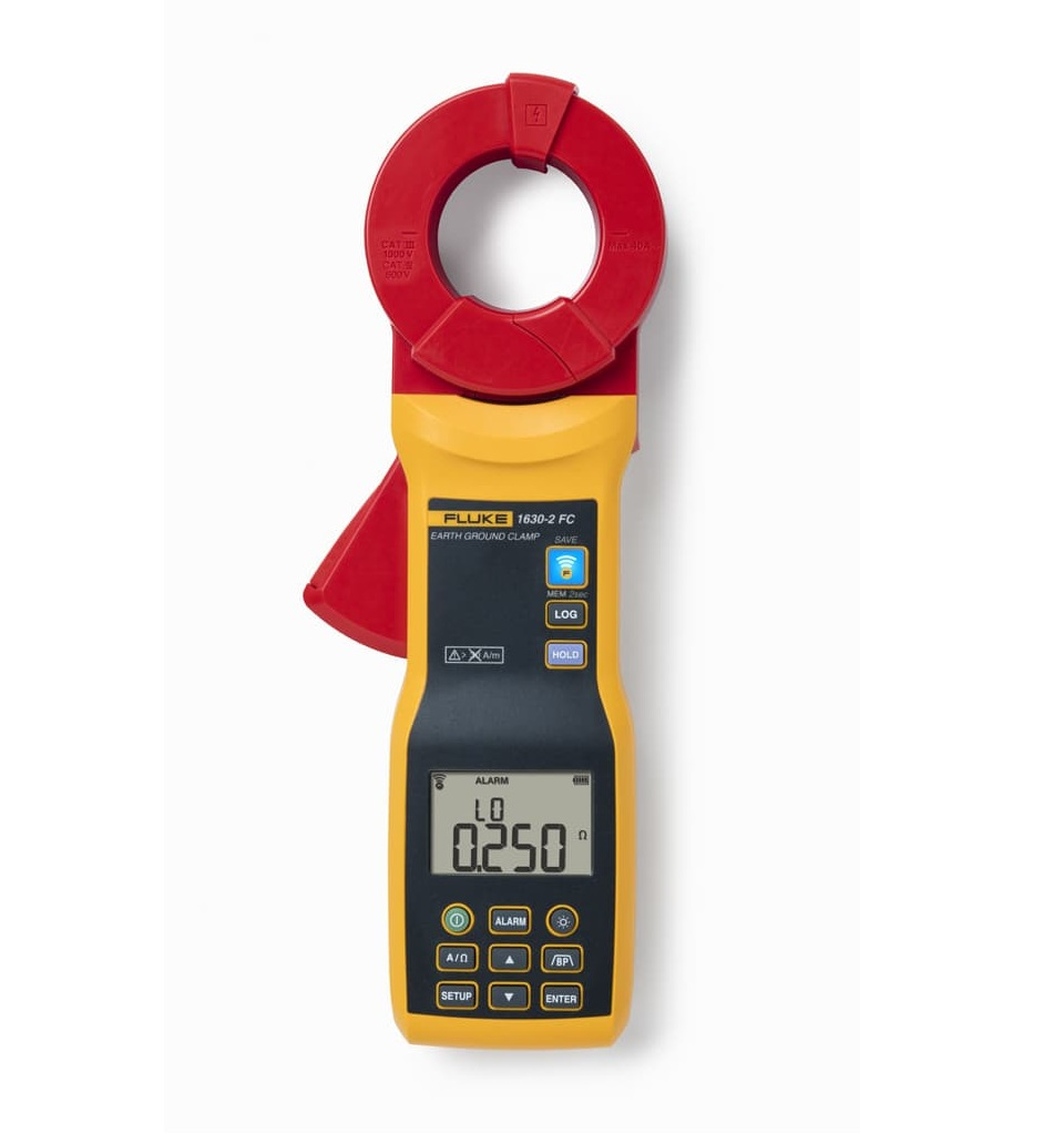 FLUKE 1630-2 FC - Earth Ground Clamp Meter 1000V