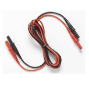 FLUKE 17XX-TL 0.18M - Test lead set; 1000V CAT III, Non-stack conn; 0.18 m; Red/Blk