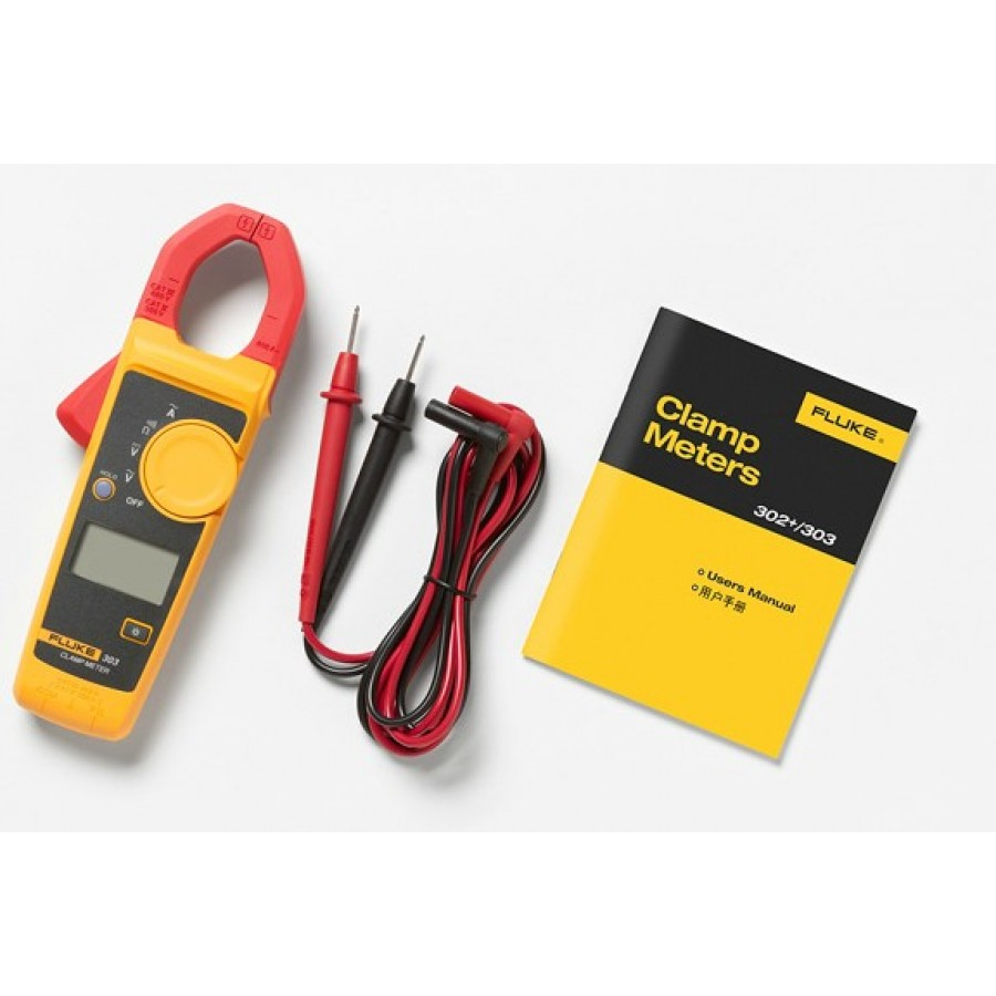 Fluke_303 Clamp Meter_1 - Digital Clamp Meter – 600A