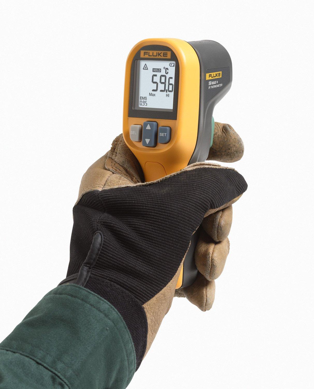 Fluke_59max+_Digital Thermometer_Measure - Laser Infrared Meter -30°C to 500°C