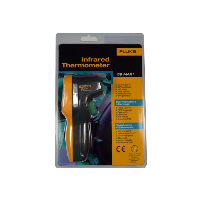 Fluke_59max+_Digital Thermometer_Retail - Laser Infrared Meter -30°C to 500°C