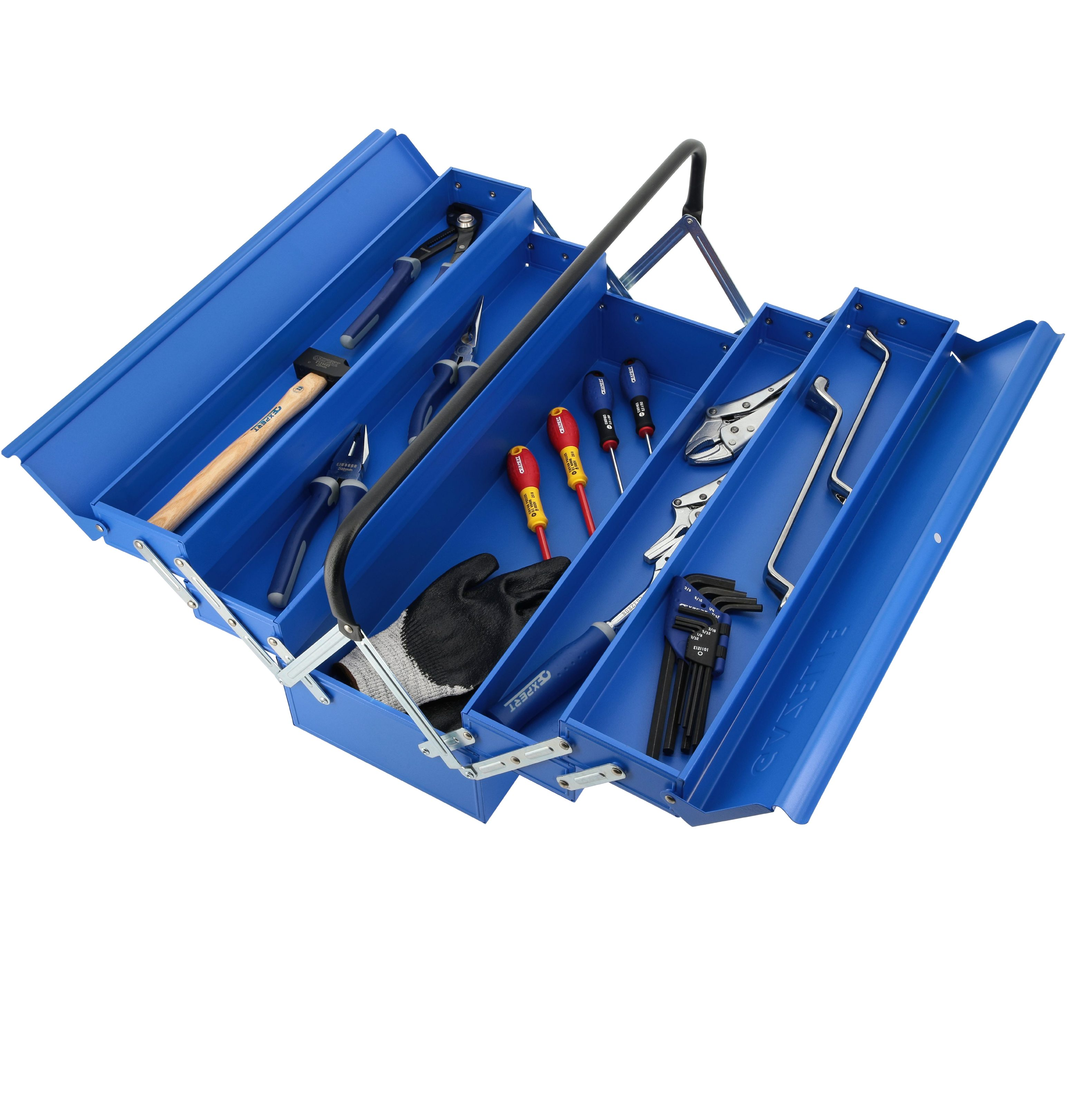 - G2021 21 Inch 5 tray cantilever tool box