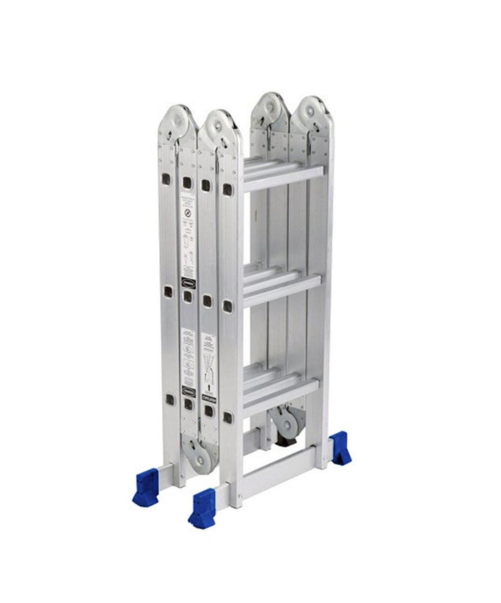 GAZELLE G5615 - 15 Ft. Aluminium Ladder 4 section 4 x 4 steps
