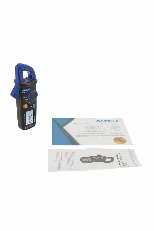 GAZELLE G9201 - Mini Clamp Meter 200A