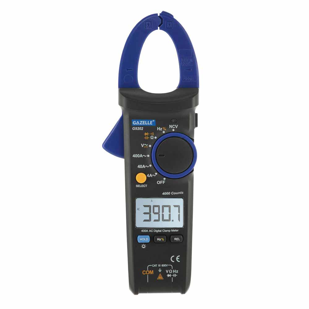 GAZELLE Digital Clamp Meter in Dubai, UAE - G9202 from AABTools
