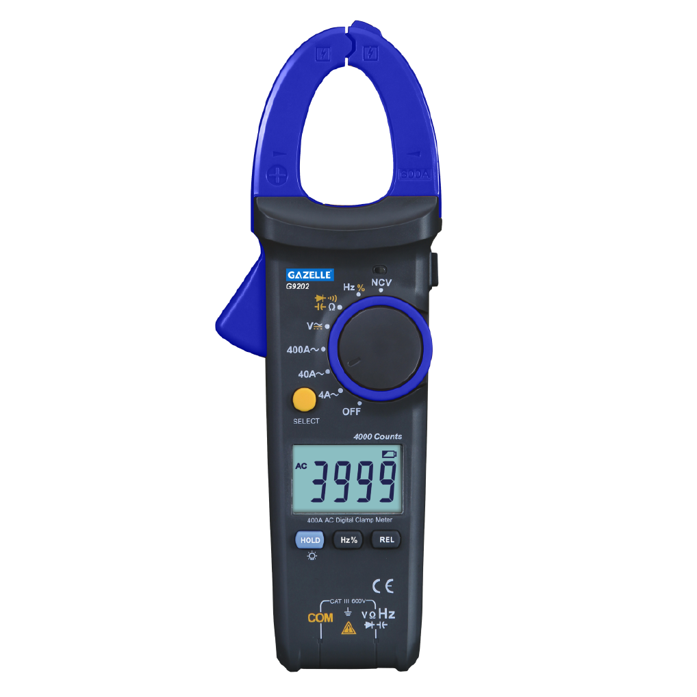 GAZELLE G9202 - 400A Digital Clamp Meters