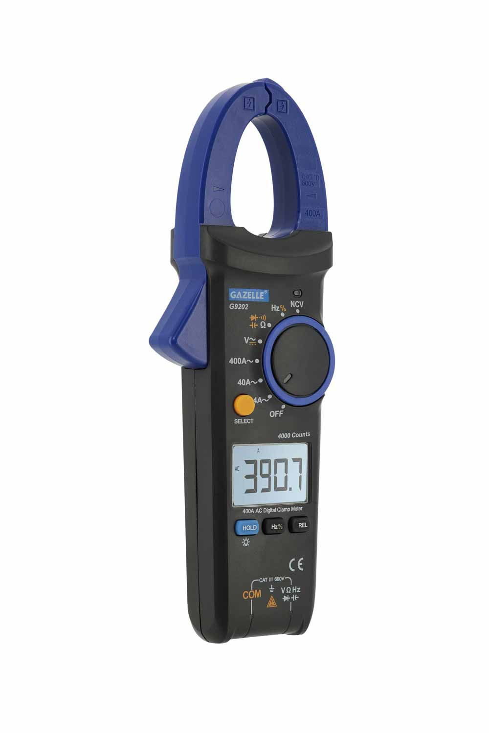 - 400A Digital Clamp Meters