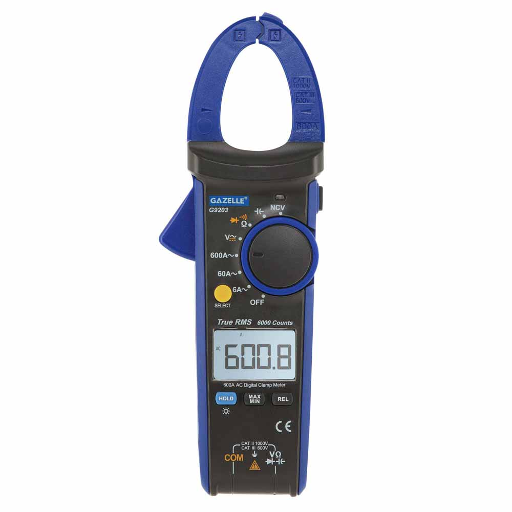 GAZELLE TRUE RMS Digital Clamp Meter in Dubai, UAE - G9203 from AABTools