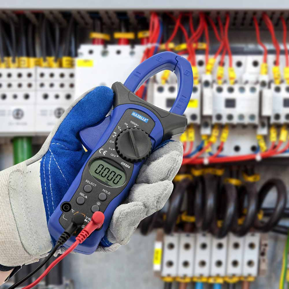 - 1000A Auto Range Digital Clamp Meter