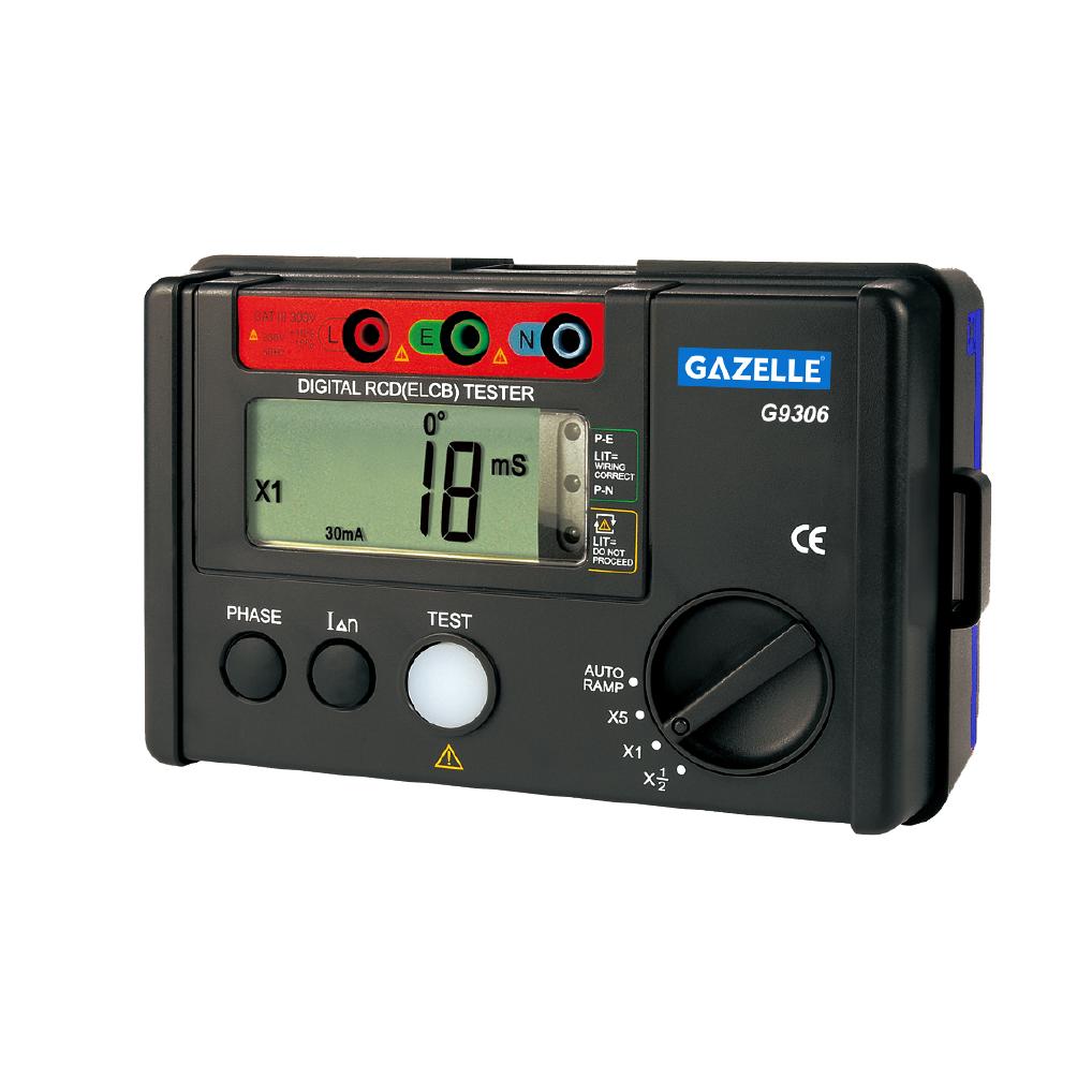 GAZELLE G9306 - RCD-ELCB Tester