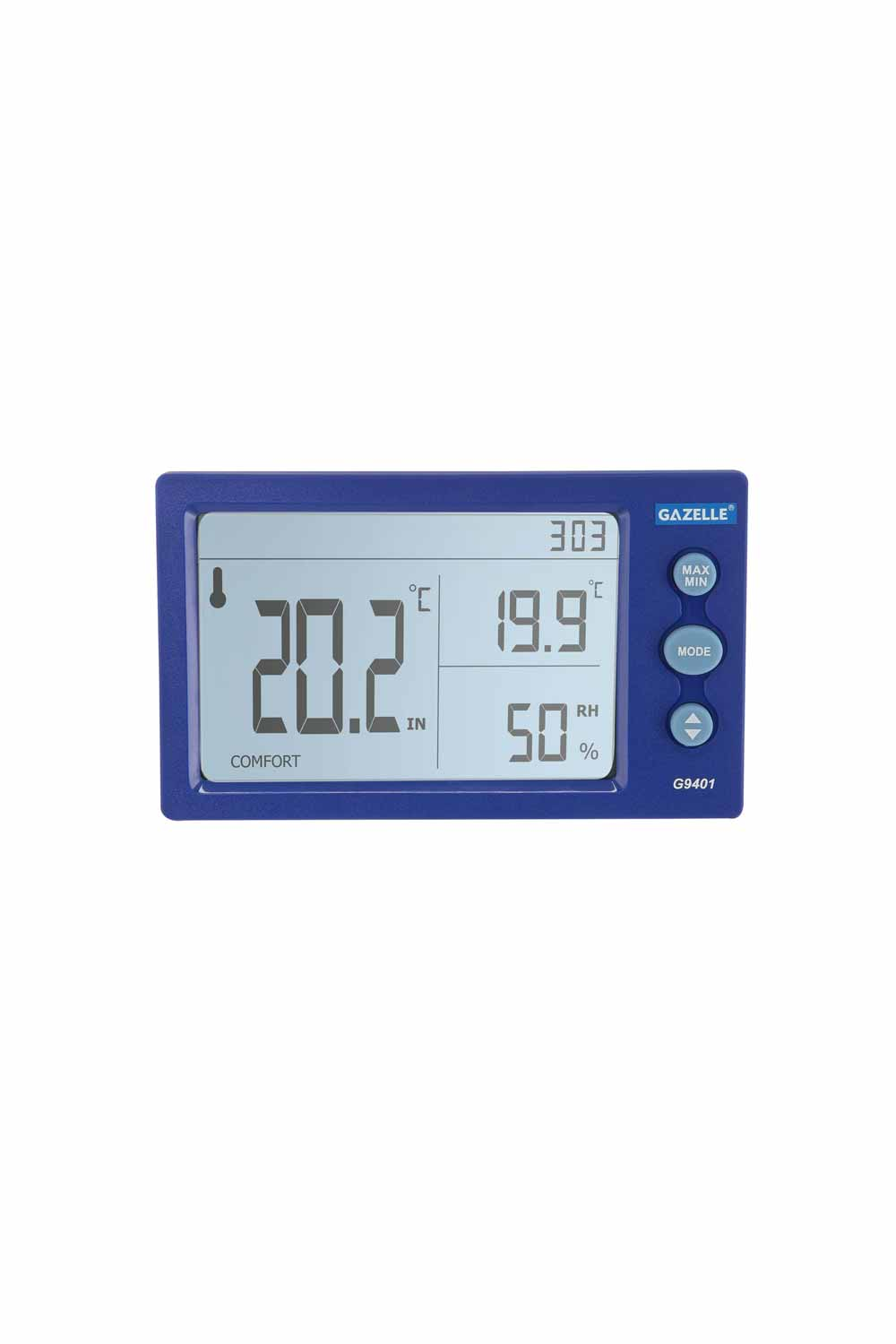 GAZELLE G9401 - Big Digit Temperature Humidity Meter