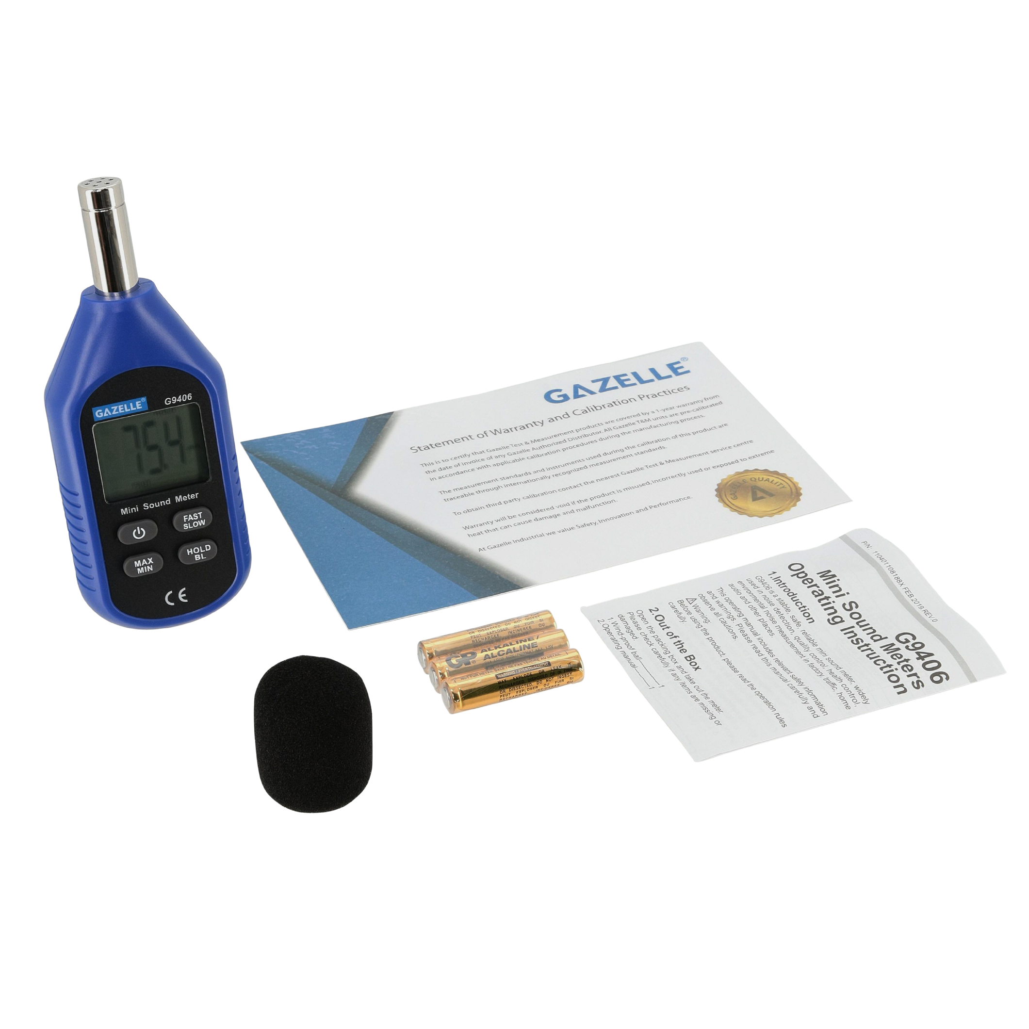 GAZELLE G9406 - Mini Sound Level Meter