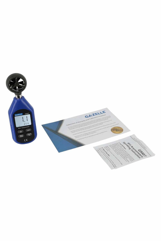 GAZELLE G9407 - Mini Anemometer