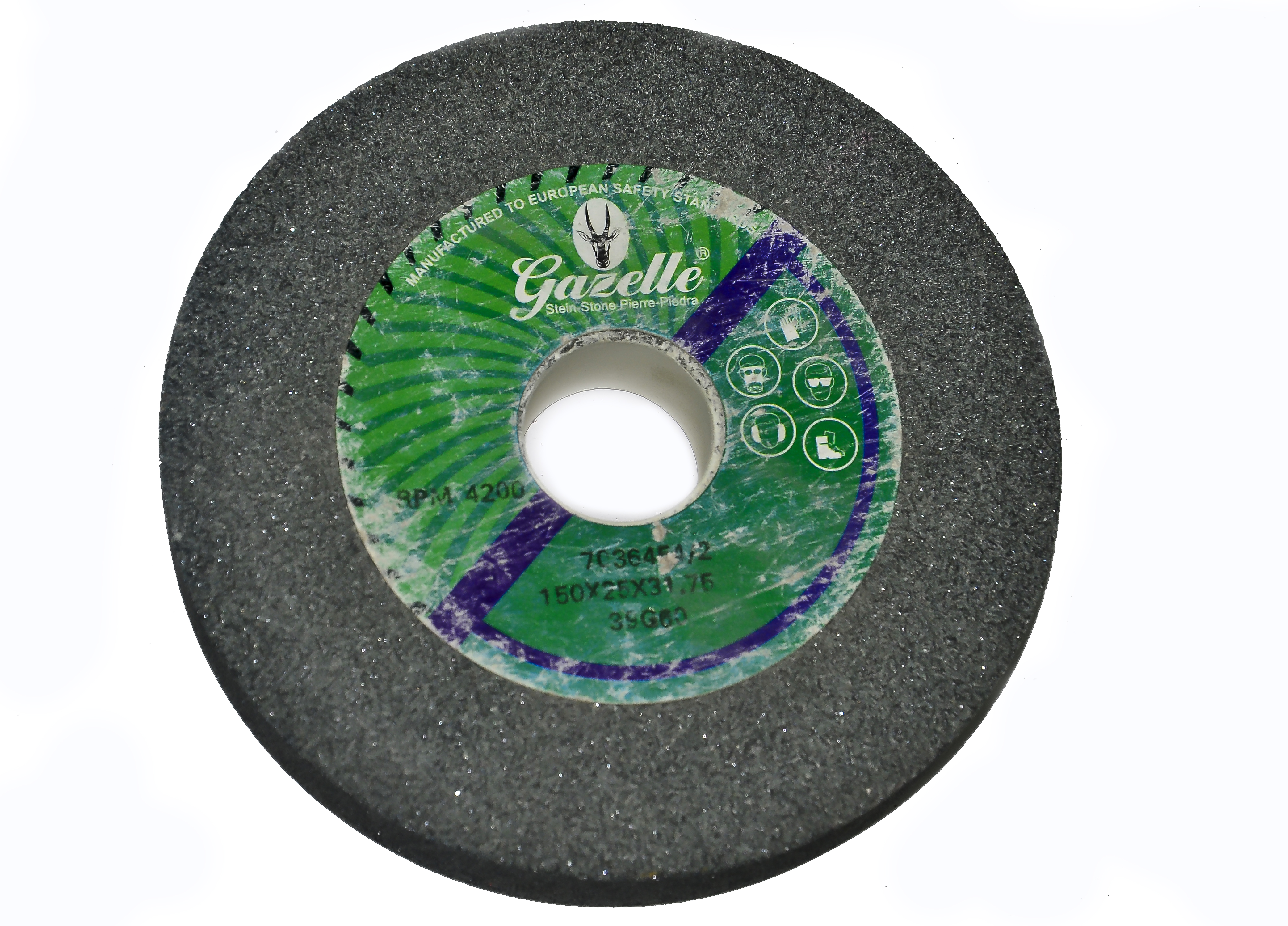 GAZELLE GAZ-20020-46B - Bench Grinding Wheels – Aluminium Oxide 200 x 20 x 31.75mm Rough