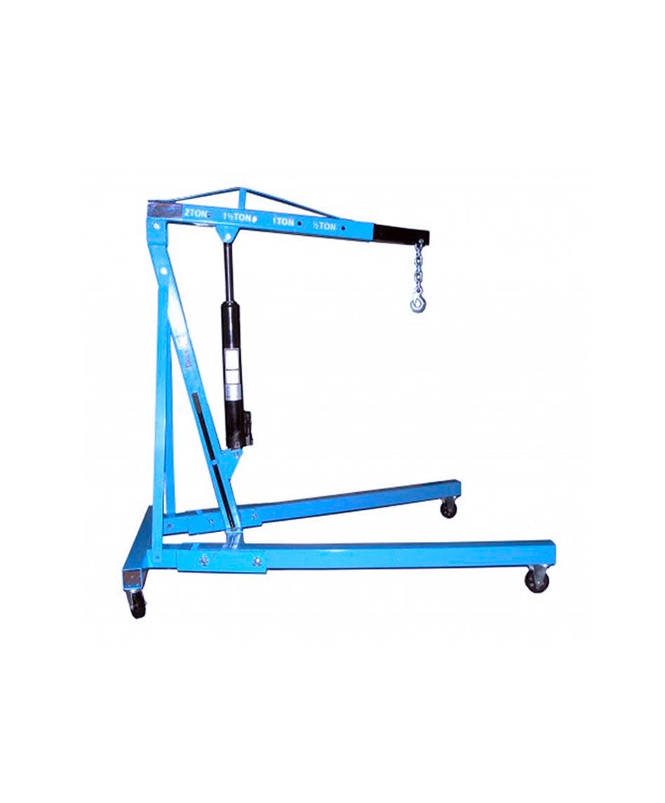 GAZELLE BDJ10 - Heavy Duty Shop Crane Foldable; Cap: 1000Kg
