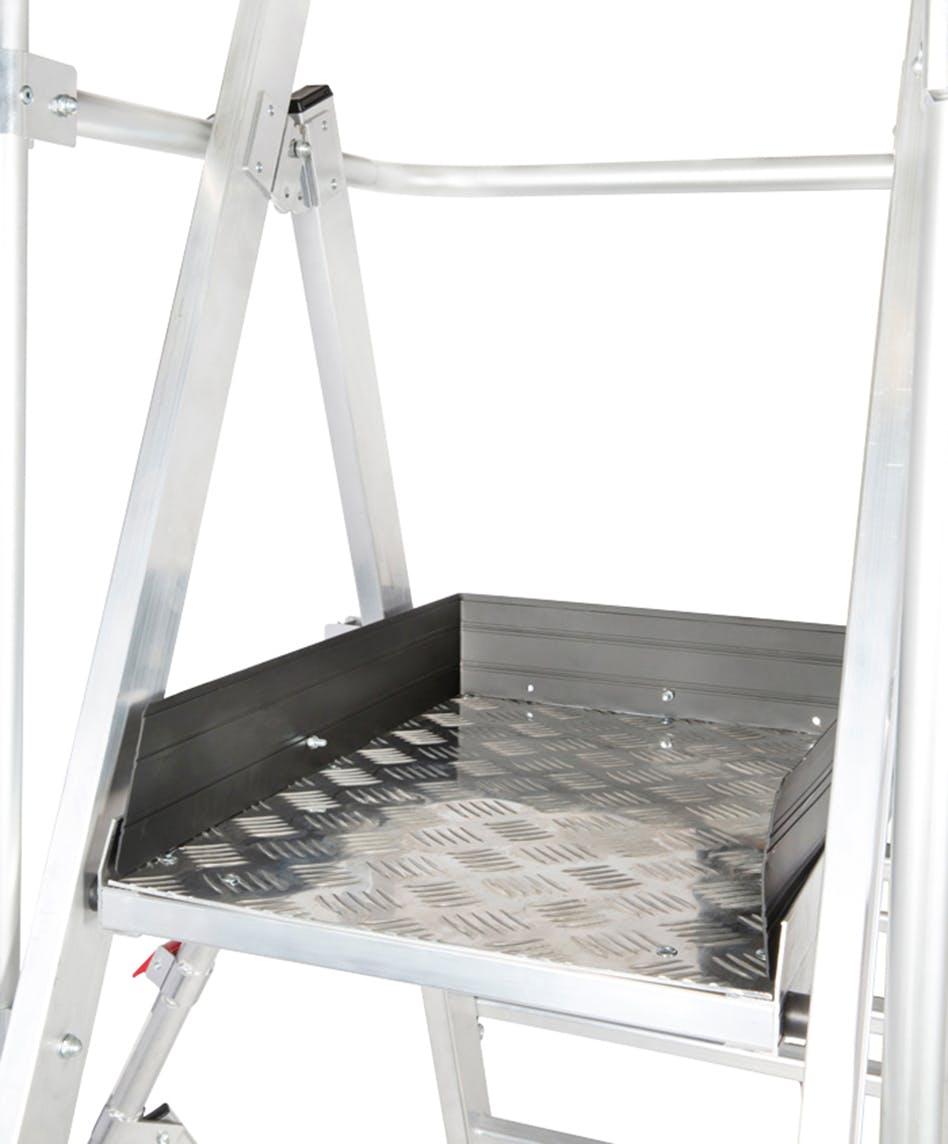 - Guardian Telescopic Platform Ladder 11-13 Ft.