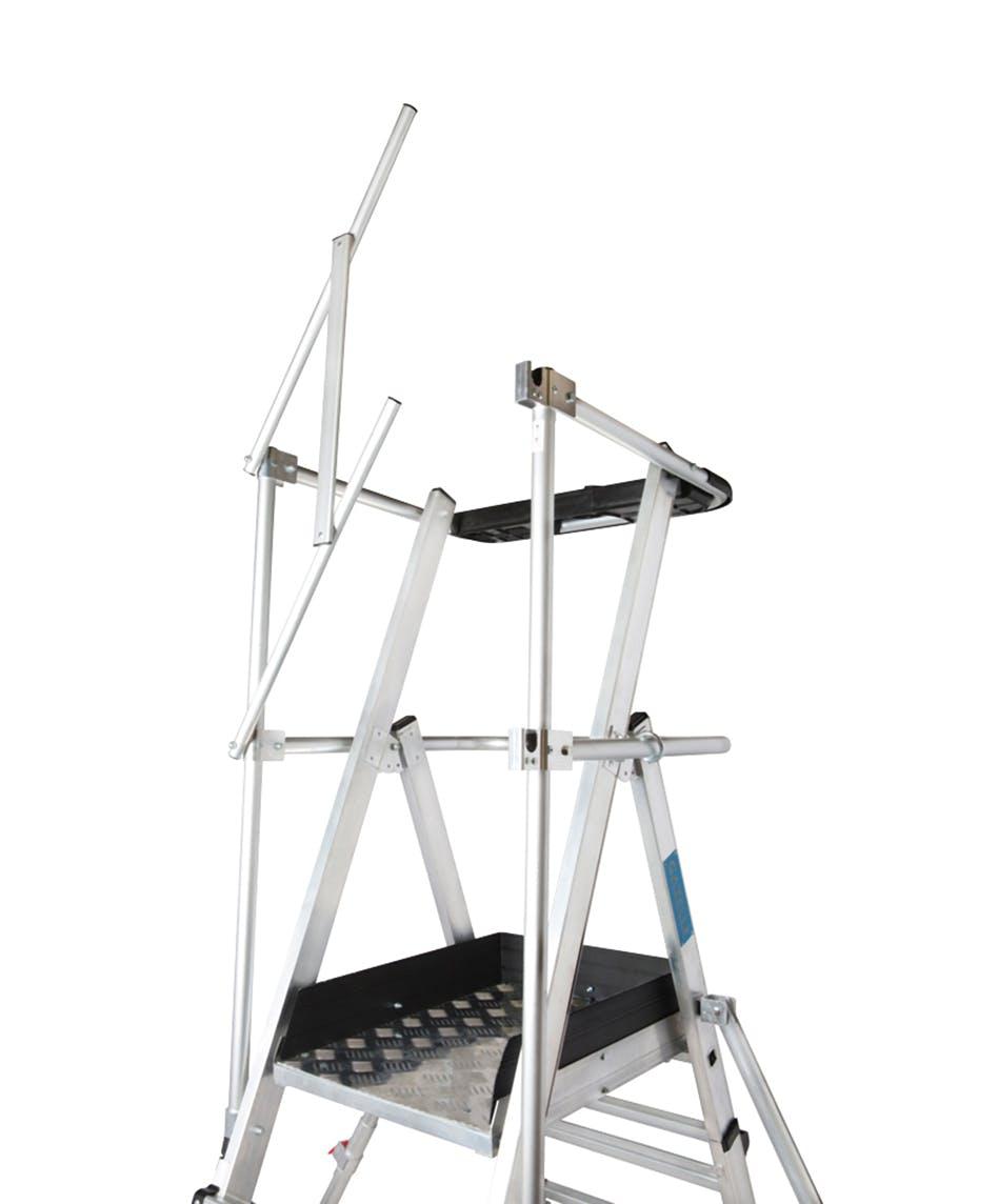 GAZELLE G1012 - Guardian Telescopic Platform Ladder 11-13 Ft.