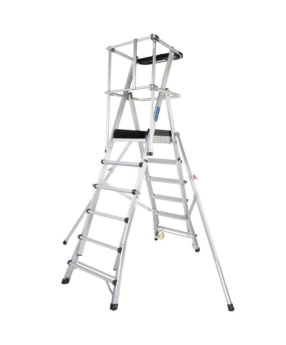 GAZELLE G1012 - Guardian Telescopic Platform Ladder 11-13 Ft.