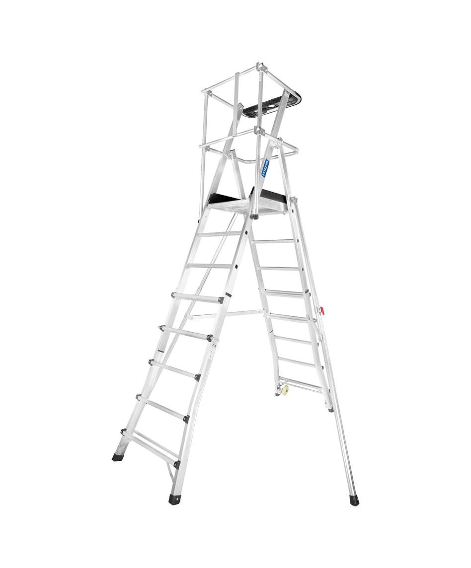 GAZELLE G1015 - Guardian Telescopic Platform Ladder 12 – 14 Ft.