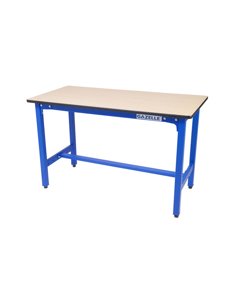 GAZELLE G2601 - G2601 47 Inch Wood Top Workbench with steel frame