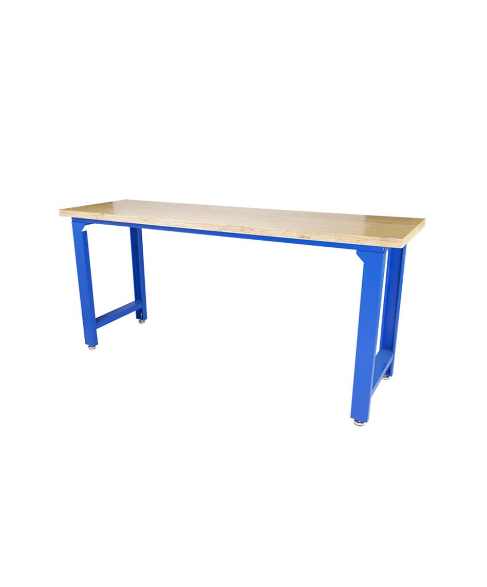 GAZELLE G2602 - G2602 79 Inch Solid Wood Top Workbench