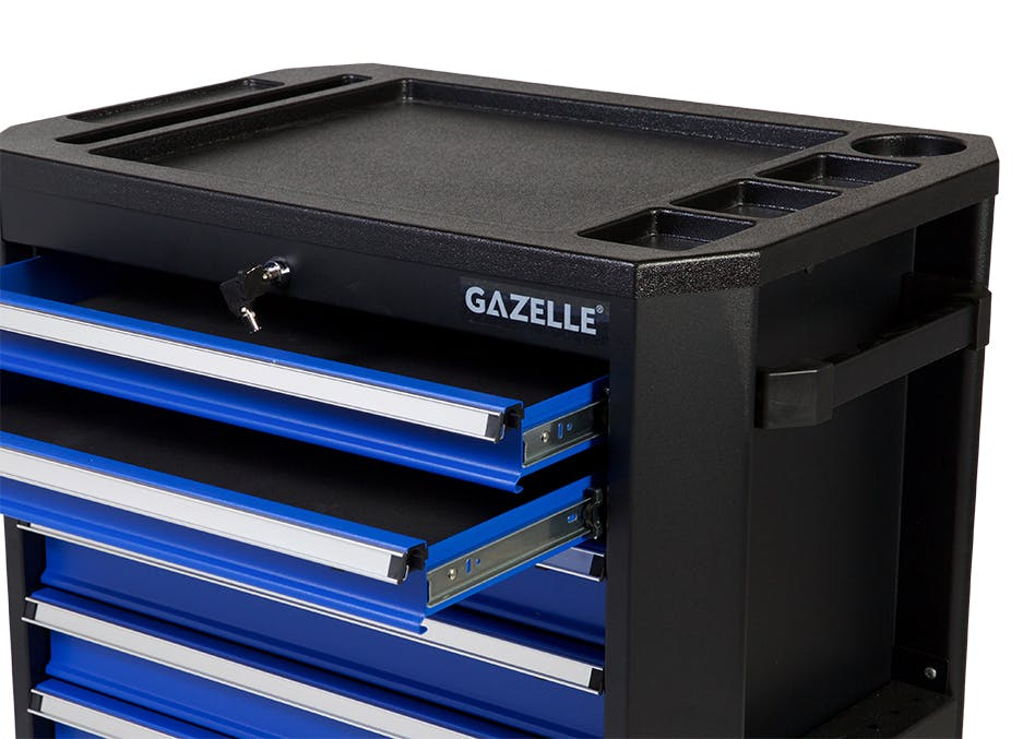 GAZELLE G2906 - G2906 27 Inch 7-Drawer Rolling Tool Cabinet
