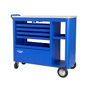 EXPERT G2908 - G2908 40 Inch 5-Drawer Mobile Workbench with Solid Wood Top