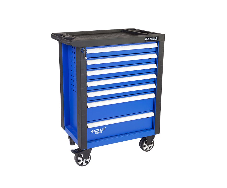 - G2910 27 Inch 7-Drawer Rolling Tool Cabinet with 181 tools