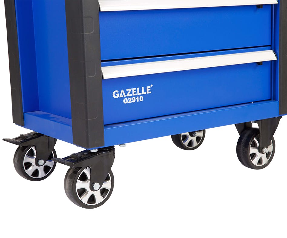 GAZELLE G2910 - G2910 27 Inch 7-Drawer Rolling Tool Cabinet with 181 tools