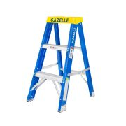 GAZELLE G3003 - 3 Ft. Fiberglass Step Ladder for working height up to 7 Ft.