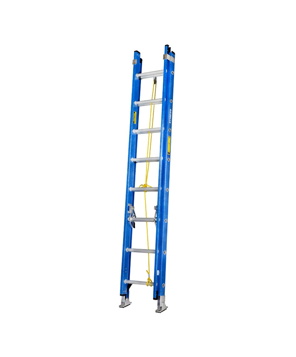 GAZELLE G3516 - 16 Ft. Fiberglass Extension Ladder w/ 300 Lbs. Load Capacity