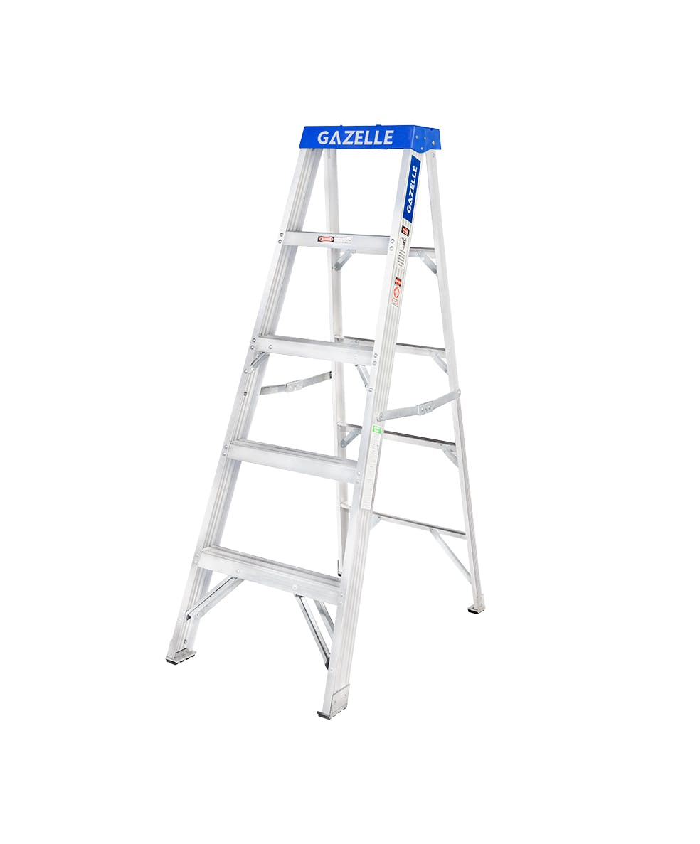 GAZELLE G5003 - 3 Ft. Aluminium  Step Ladder for working height up to 7 Ft.