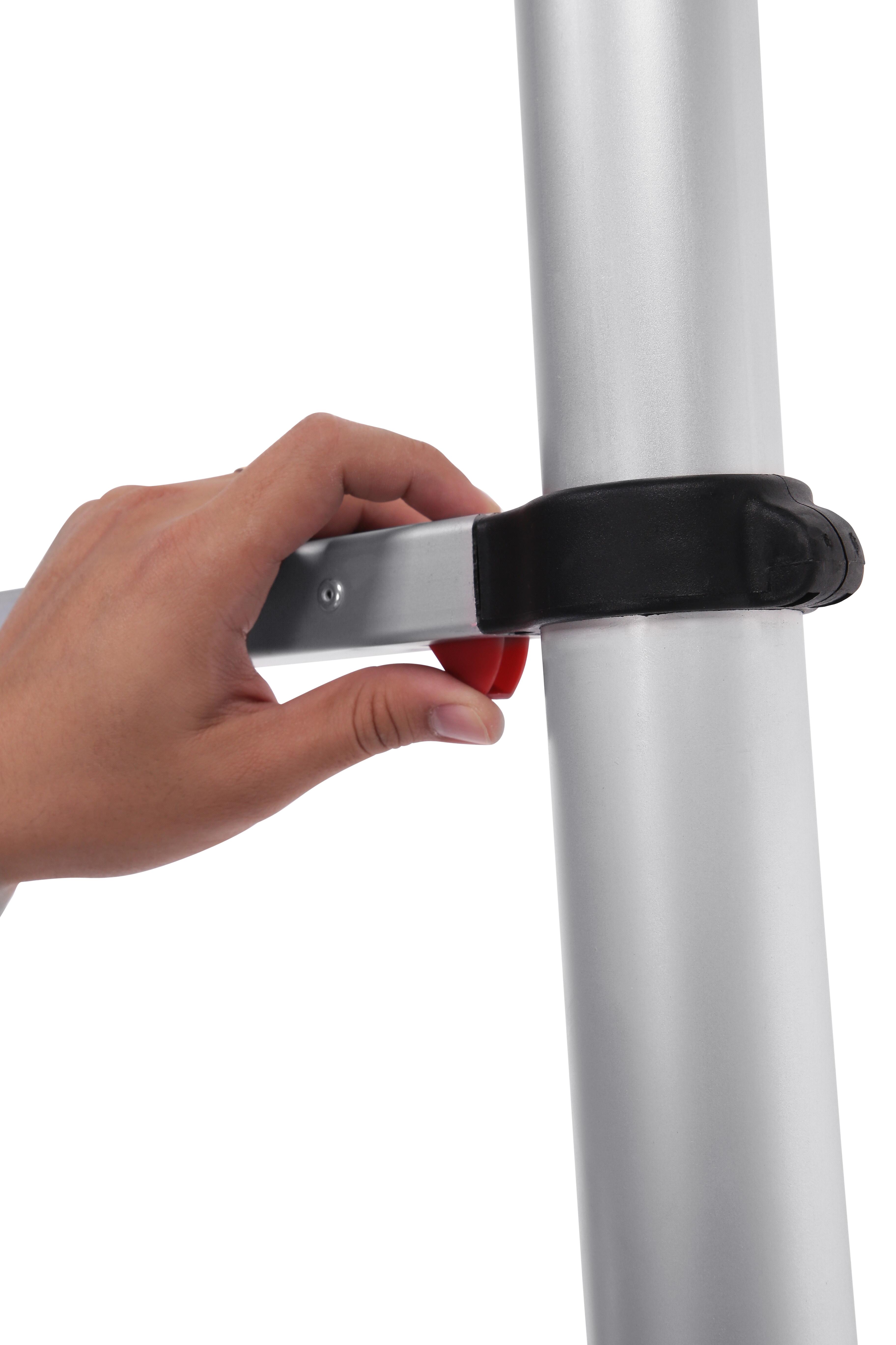 - Telescopic Straight Ladder 2.6M