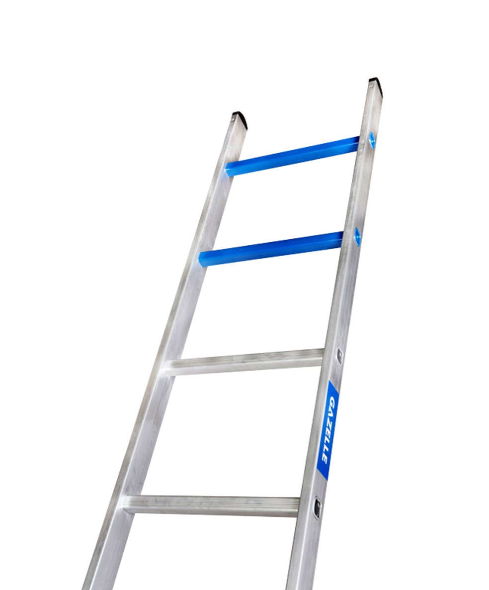 GAZELLE G5210 - 10 Ft. Aluminium Straight Ladder for working height up to 13 Ft.