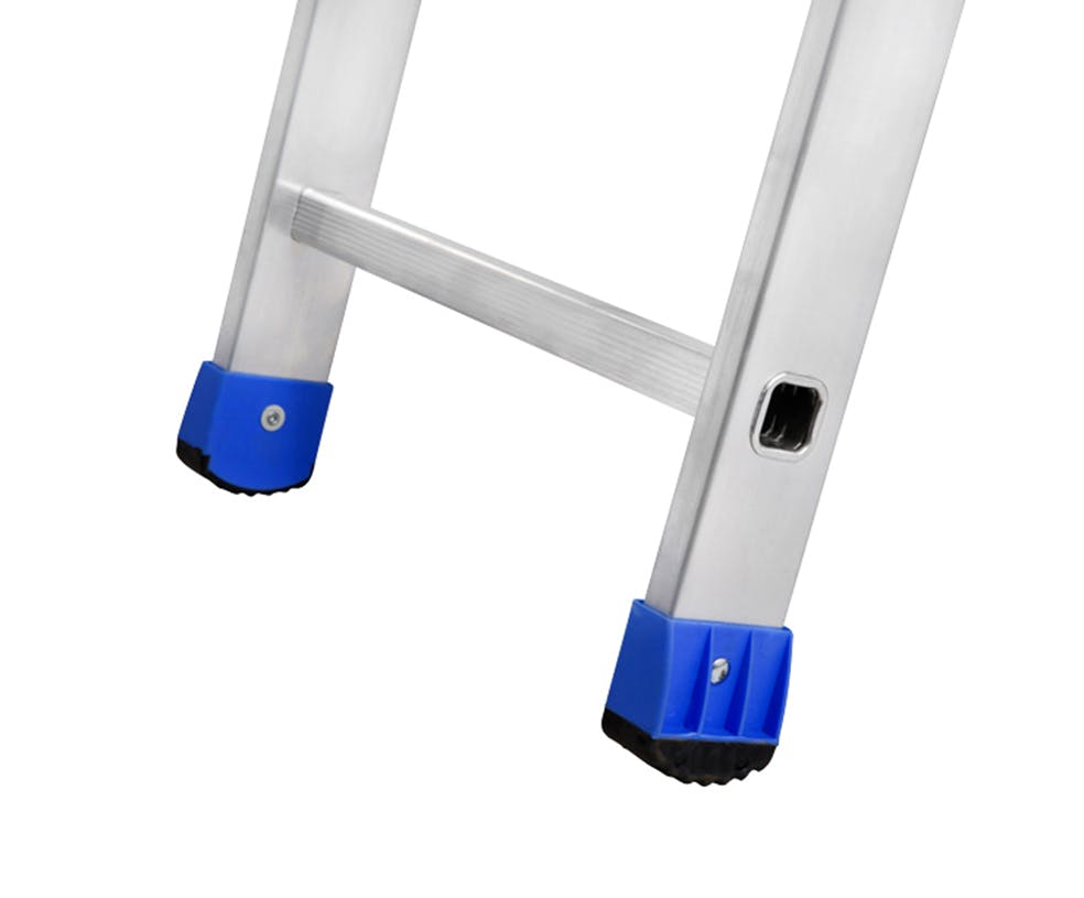 GAZELLE G5215 - 15 Ft. Aluminium Straight Ladder for working height up to 18 Ft.