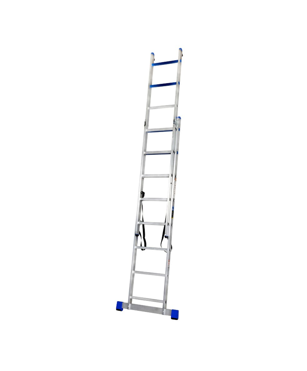 GAZELLE G5512 - 12 Ft. Aluminium Combination Ladder 2 X 8 Steps