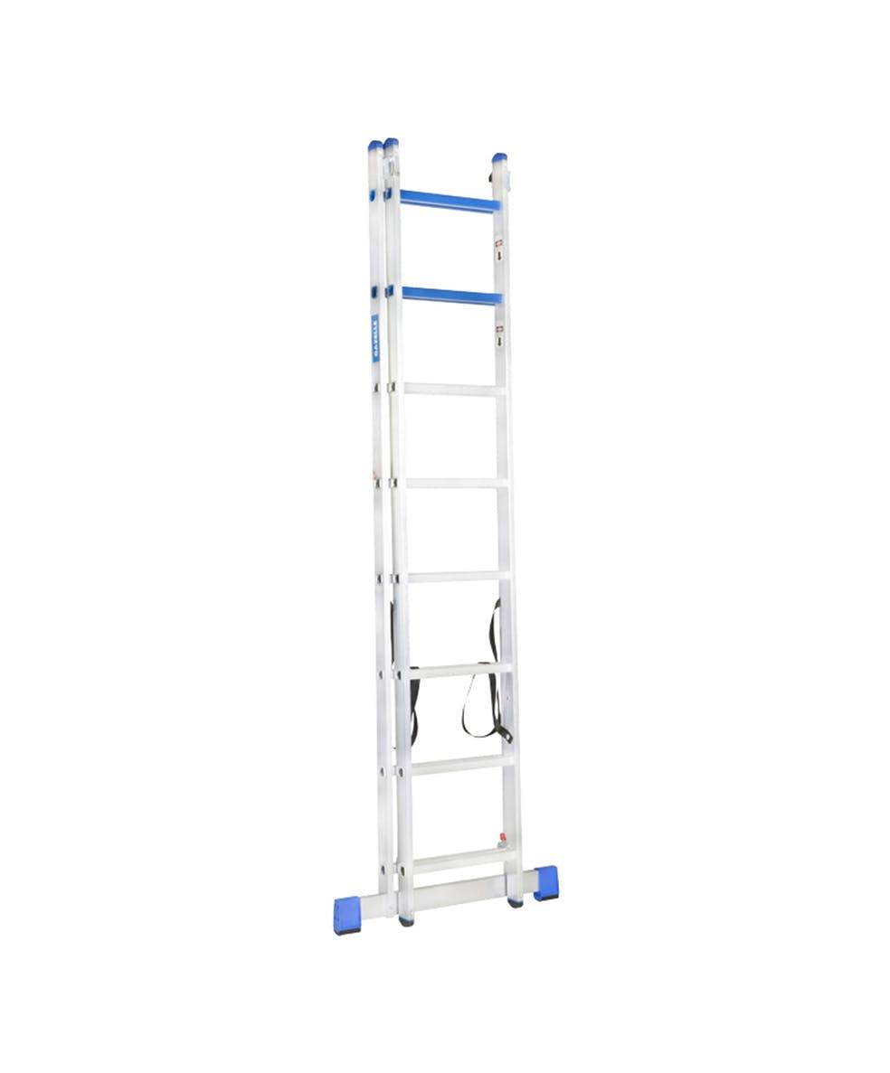 GAZELLE G5515 - 15 Ft. Aluminium Combination Ladder 2 X 10 Steps