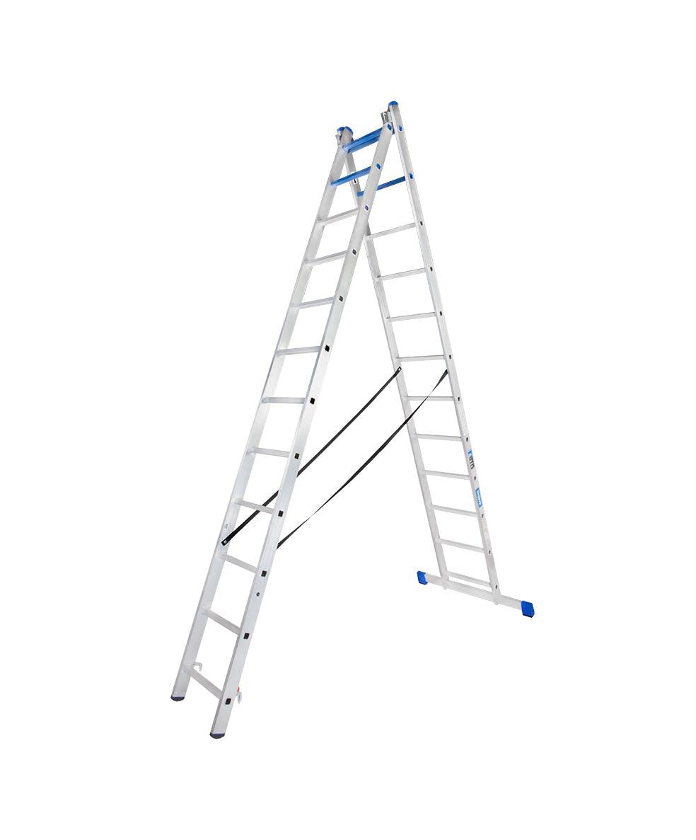 GAZELLE G5520 - 20 Ft. Aluminium Combination Ladder 2 X 12 Steps