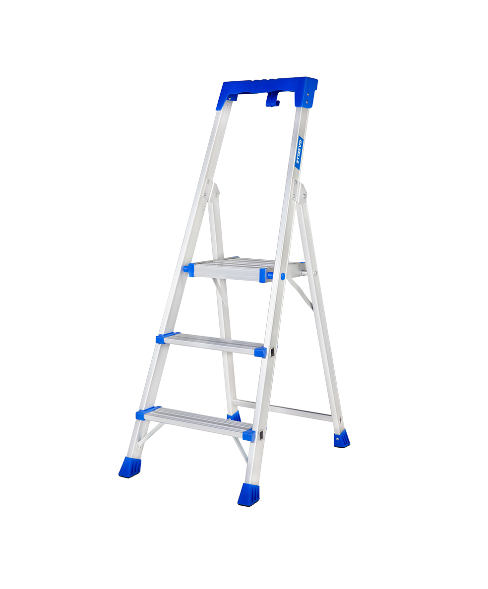 GAZELLE G5703 - 3 Step Platform Step Ladder for working height up to 8 Ft.