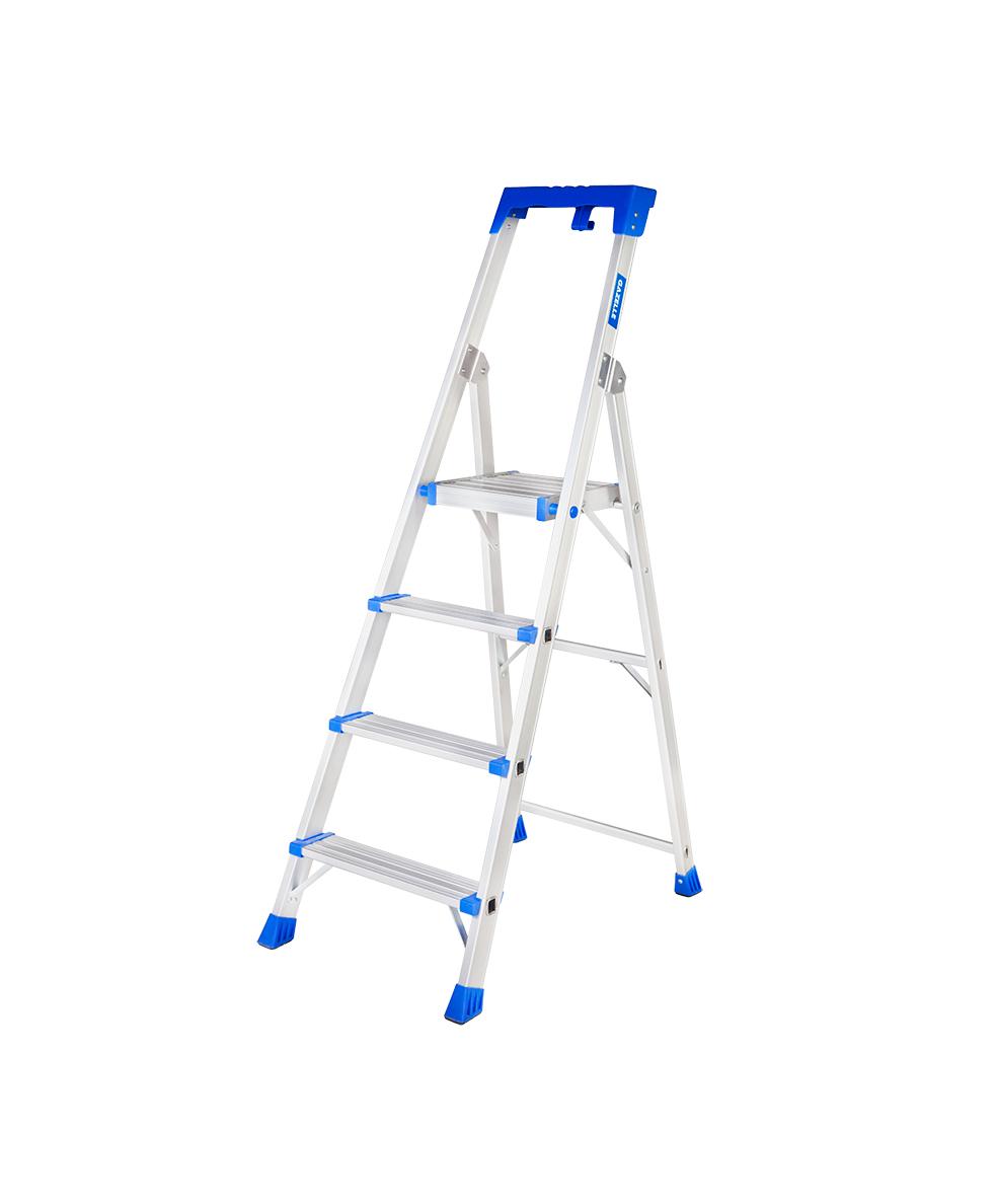 GAZELLE G5704 - 4 Step Platform Step Ladder for working height up to 9 Ft.
