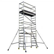 GAZELLE G6204 - Aluminium Scaffolding – Working Height 5.8M ; Platform Height 3.8M;
