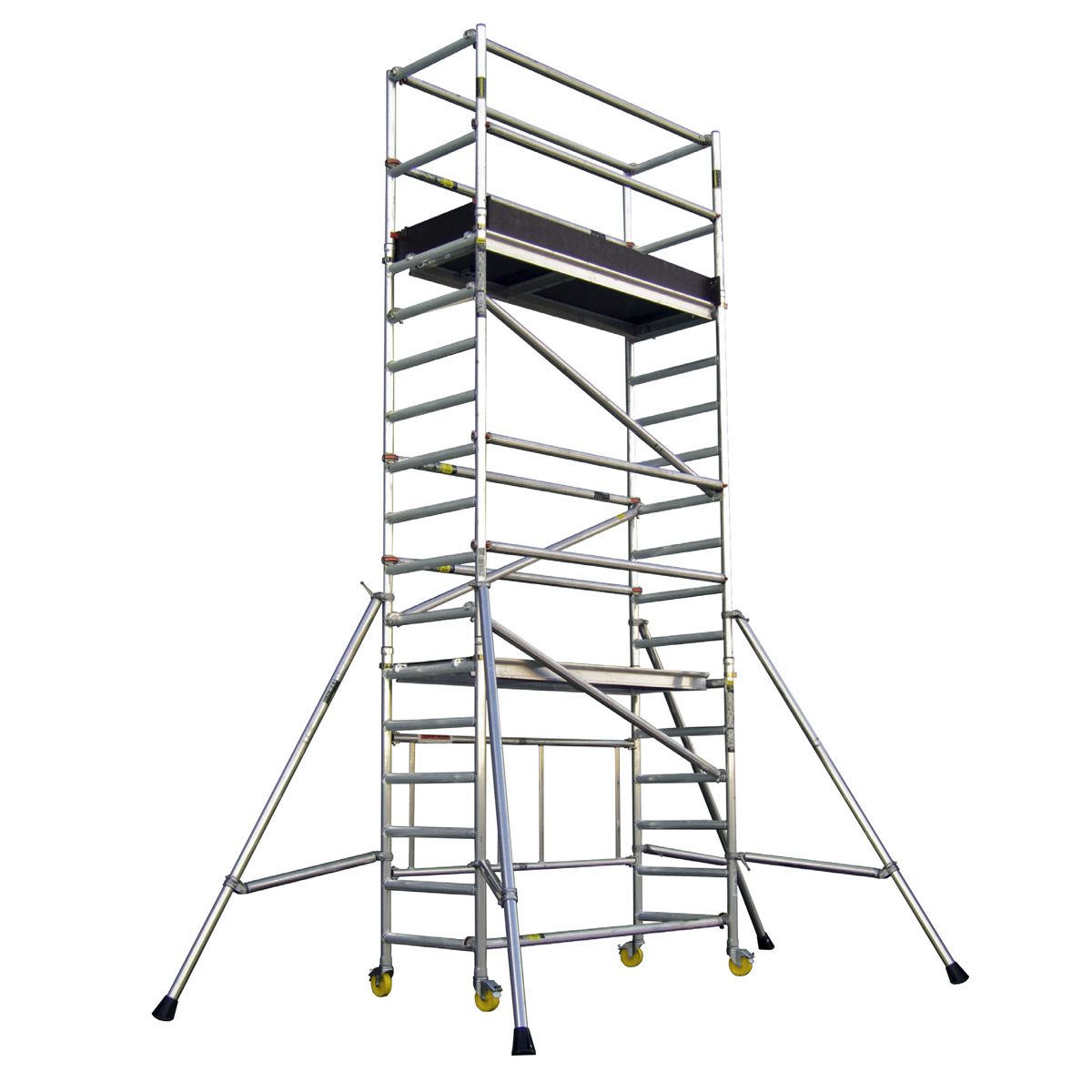 Aluminium Scaffolding - Working Height 5.8M ; Platform Height 3.8M;