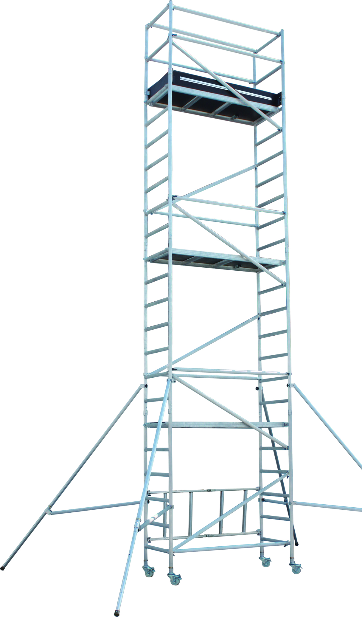 Aluminium Scaffolding - Working Height 5.8M ; Platform Height 7.8M;