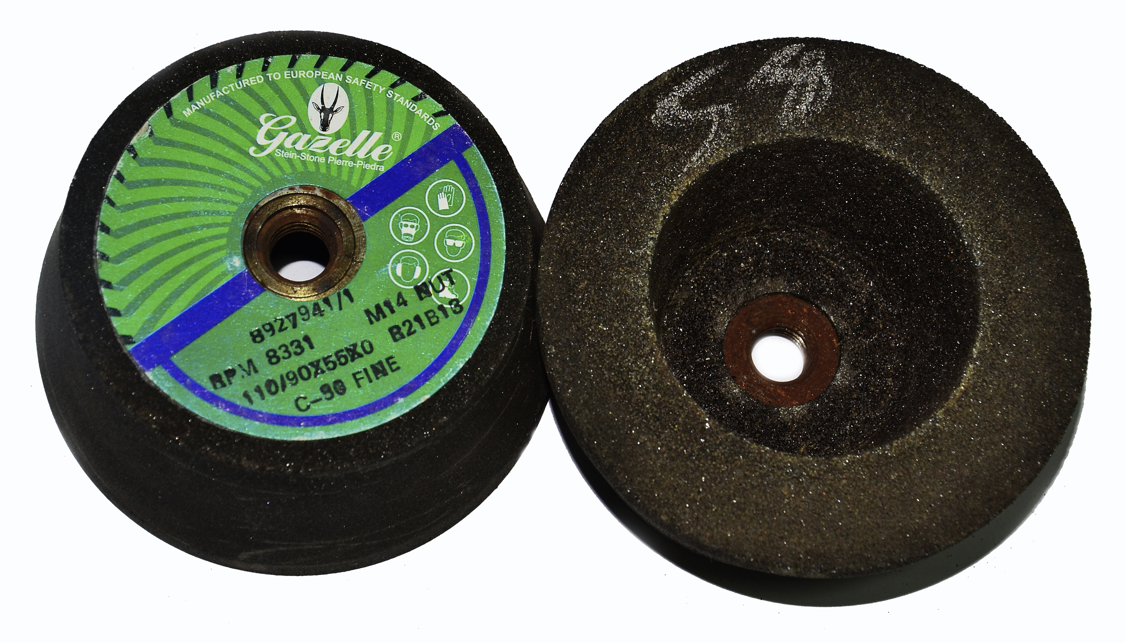 Cup Grinding Stones 110/90mm x 40G