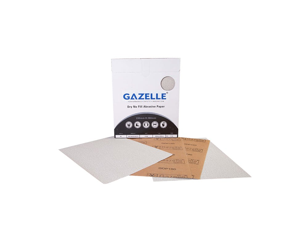 GAZELLE GDP400 - Dry Abrasive Paper 400G (Pack of 50)